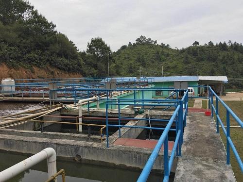 曝气池污水处理部分二